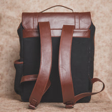 Load image into Gallery viewer, Zouk JetBlack Canvas Backpack
