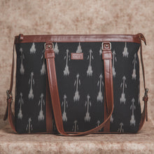 Load image into Gallery viewer, Zouk Ikat Arrow Women's Office Bag - Front View