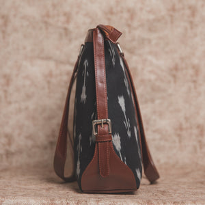 Zouk Ikat Arrow Women's Office Bag - Side View