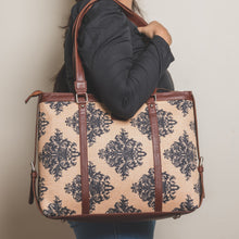 Load image into Gallery viewer, Mughal Motif Women's Office Bag