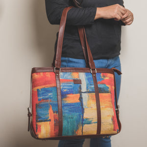 Abstract Amaze Women's Office Bag