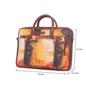 Autumn Laptop Bag with dimensions