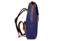 Zouk Royal Blue Canvas Backpack