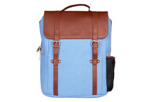Load image into Gallery viewer, Zouk SeaBlue Canvas Backpack