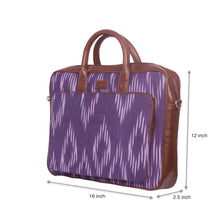 Load image into Gallery viewer, Blue Crystal Laptop Bag with sizes