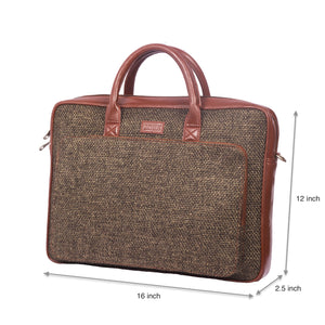 Bristel Laptop Bag with dimensions