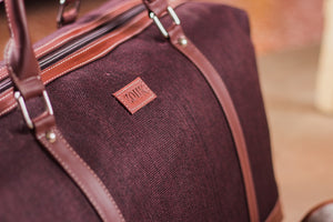 Zouk Jet Brown Travel Bag