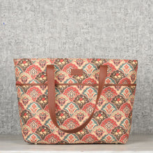 Load image into Gallery viewer, Mughal Art Multicolor Tote Bag