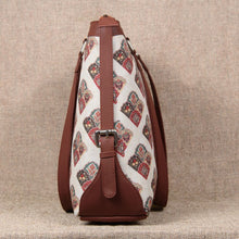 Load image into Gallery viewer, Seashell Motif White Women's Office Bag