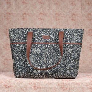 Lattice Lace Tote Bag