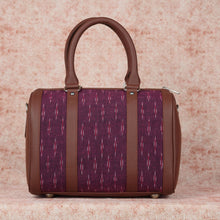 Load image into Gallery viewer, Ikat Magenta Needle Handbag