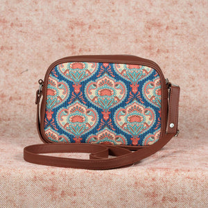 Kovil Blue Sling Bag
