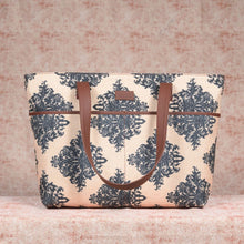 Load image into Gallery viewer, Mughal Motif Tote Bag