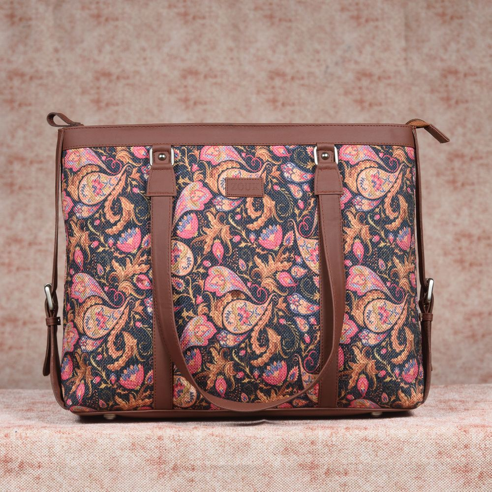 Paisley Print Women's Office Bag