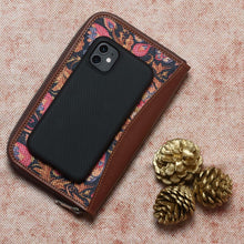 Load image into Gallery viewer, Paisley Print Chain Wallet