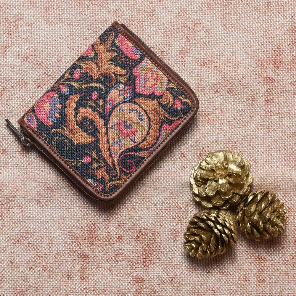 Paisley Print Women's Mini Wallet
