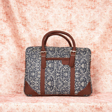 Load image into Gallery viewer, Messenger - Lattice Lace Laptop Bag