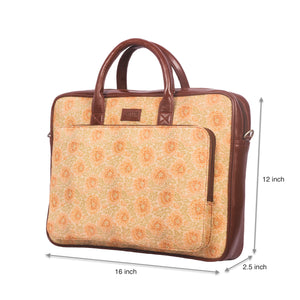 Daisybush Laptop Bag with dimensions