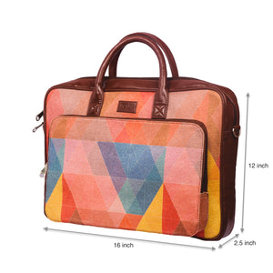 GeoOptics Laptop Bag with dimensions
