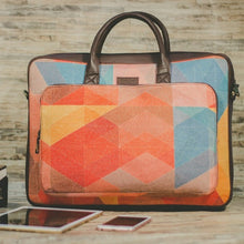 Load image into Gallery viewer, Zouk GeoOptics Laptop bag - front