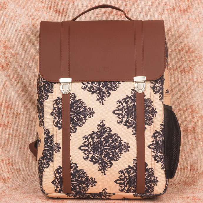 Mughal Motif Office Backpack