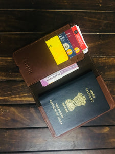 Passport Holder - Ikat GreRe