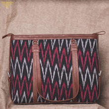 Load image into Gallery viewer, MaroWave - Women's Office Bag & Chain Wallet Combo