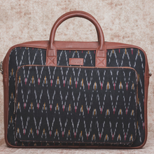 Load image into Gallery viewer, Ikat Bag for Laptop - African Wave