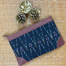 Load image into Gallery viewer, Ikat African Wave Multipurpose Pouch