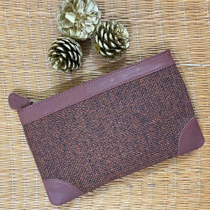 Brown Metal Multipurpose Pouch