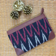 Load image into Gallery viewer, Ikat Maro Wave Multipurpose Pouch