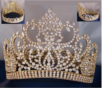 Ameins Contour Crown - Silver or Gold