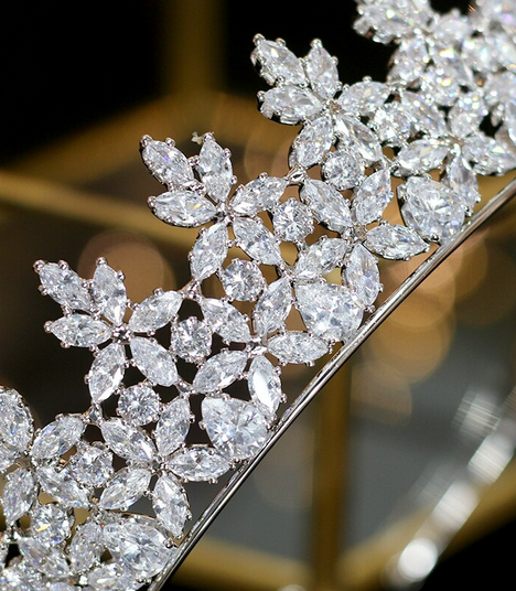 The Constant CZ Tiara - Silver or Gold