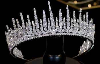 The Queenly CZ Tiara