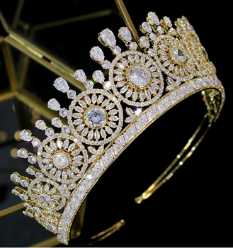The Enchantment CZ Tiara - Silver or Gold