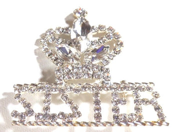 """Hope"" Crown SISTER Pin"