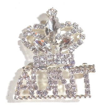 """Hope"" Crown AUNT Pin"