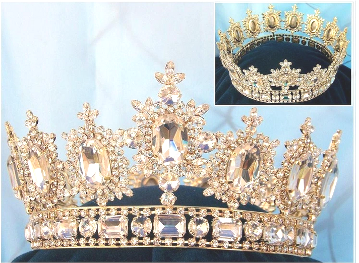 Lyric Crown - 9 Colors - Gold or Silver