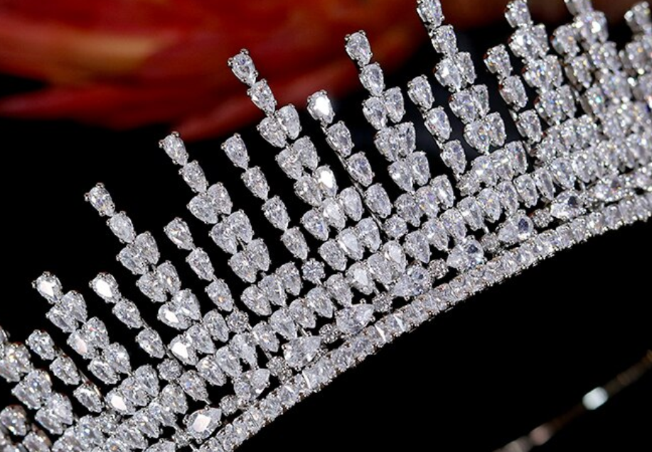 The Flame CZ Tiara