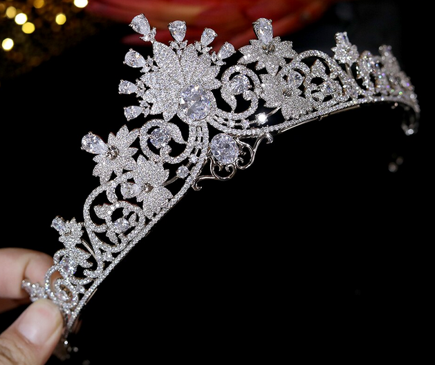 The Lauralite CZ Tiara