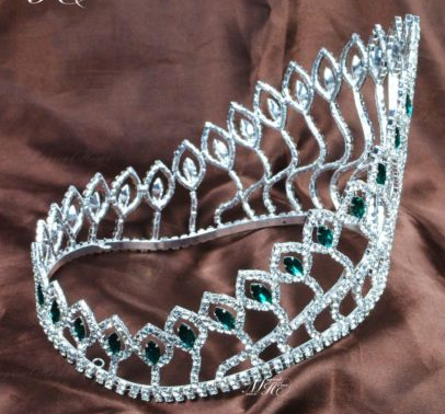Angers Contour Crown - Green or Blue Accents