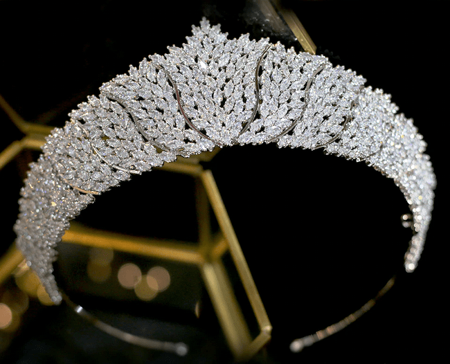 Beautiful Sky CZ Tiara
