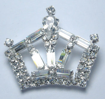 Believe Crown Pin