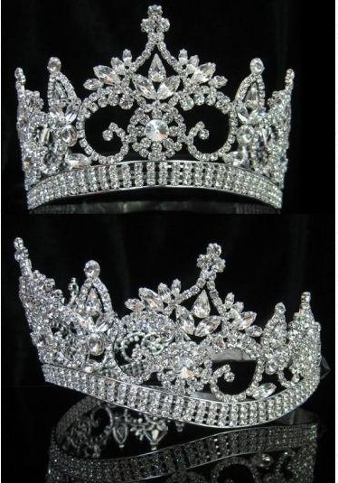 Bordeaux Contour Tiara - Gold or Silver