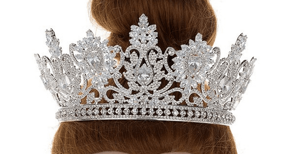 Bring on the Party! CZ Tiara