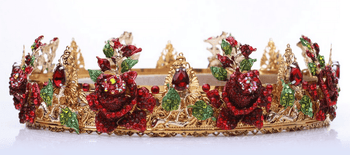 CADICE Red Roses Dolce Crown