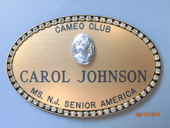 Cameo Club Name Badge