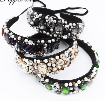 Colorful Gemstone Headband