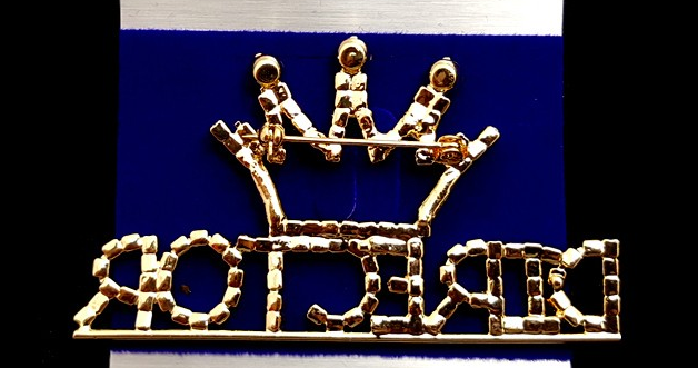 Silver Crown Director Pin