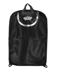 Crown Garment Bag - Purple or Black